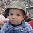 Cooper's first baseball game: the Portland Seadogs